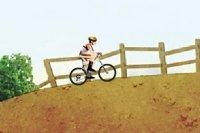 Aventura en bicicleta de montaña