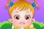 Baby Hazel enferma