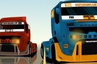 Carrera de camiones pesados
