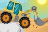 Carrera de tractores por la colinas