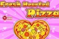 Corazón de pizza