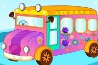 Decorar un Autobús Escolar