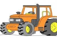 Dibujar un Tractor