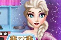 Elsa Prepara Pan de Jengibre