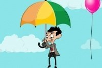 El salto de Mr. Bean