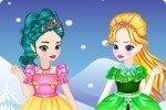 Elsa y Anna de chicas