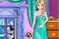 Limpiando el Castillo de Elsa