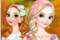 Moda de Otoño de las Hermanas Frozen