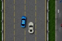 Patrulla de Policía en la Autopista