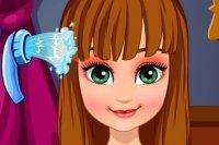 Peinado de Anna de Frozen