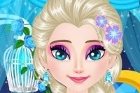 Pestañas maravillosas de Elsa