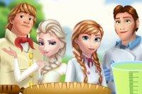Picnic con Elsa y Anna