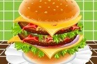 Prepara hamburguesas