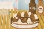 Prepara una tarta helada