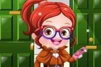 Vestir a la Detective Baby Hazel