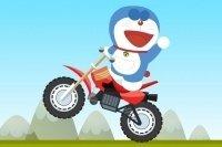 Carrera de motos de Doraimon